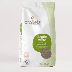 ARGILETZ_argile_verte_grain_de_concassee_1kg