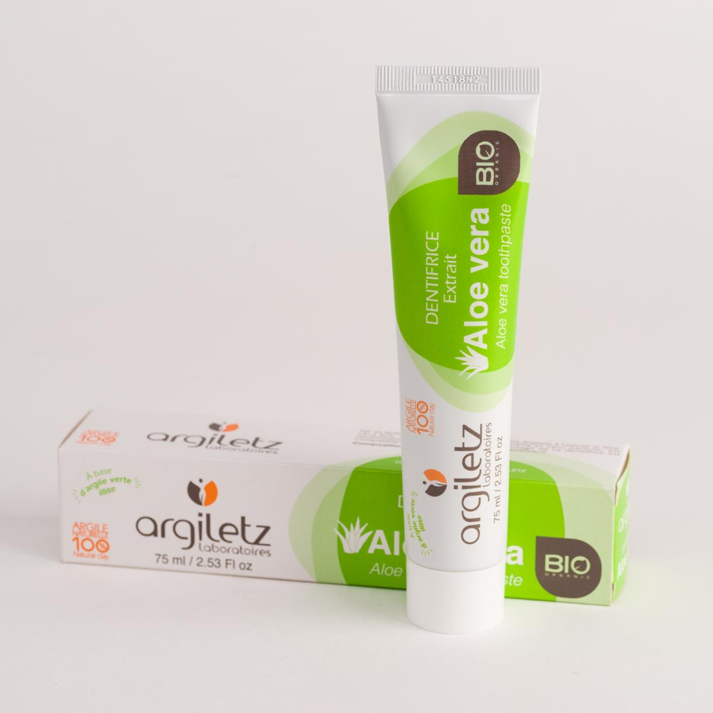 toothpaste Aloe Vera Argiletz