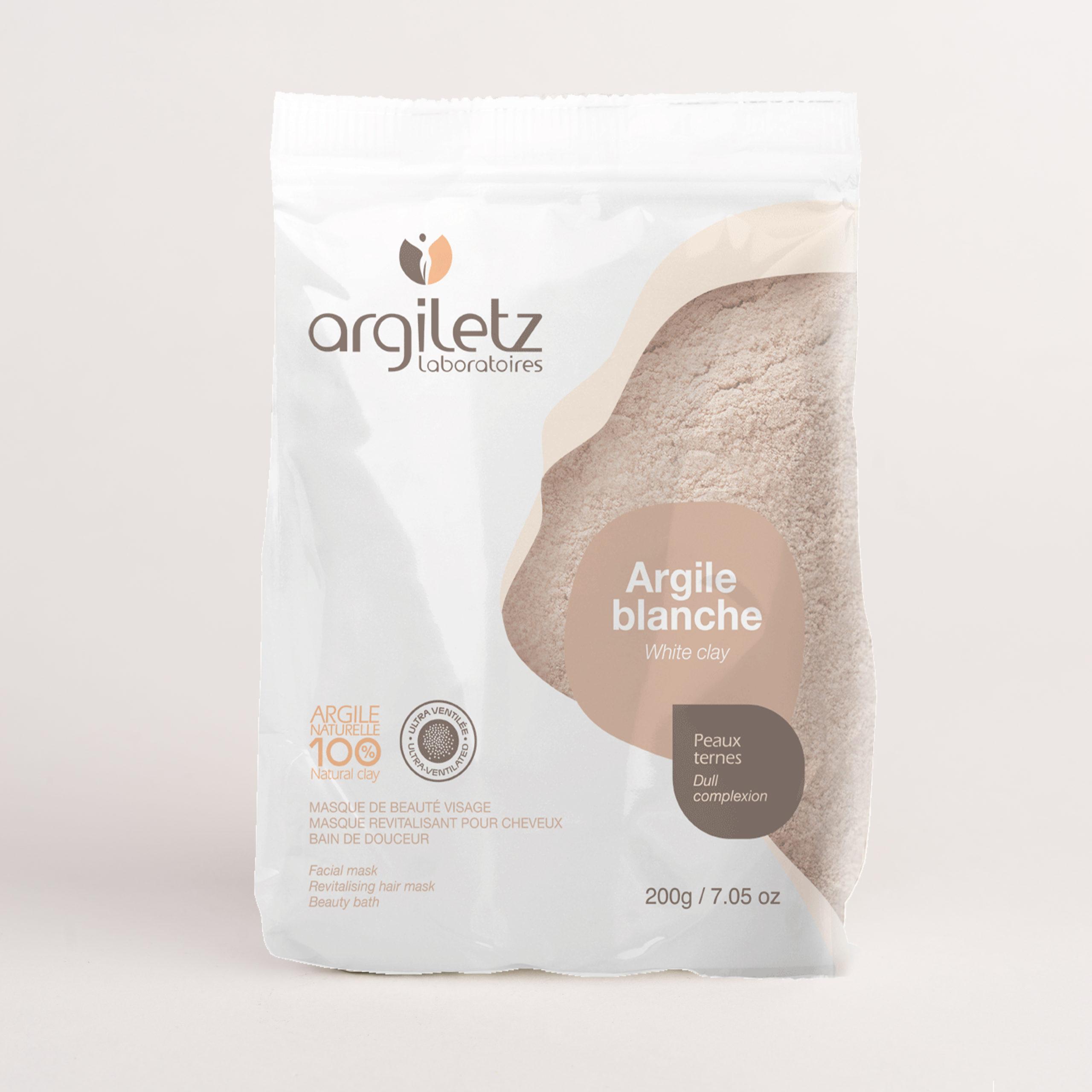 Argiletz white clay bag of 200g