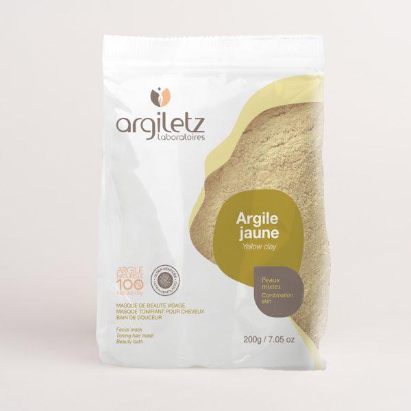 ARGILETZ_sachet_argile_jaune_200g