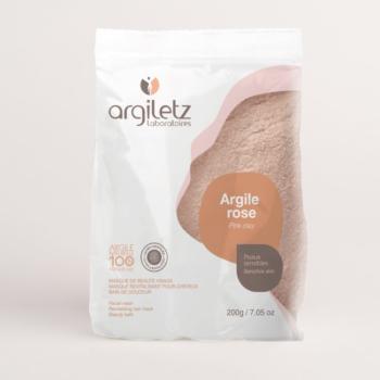 natural pink clay 200g Argiletz