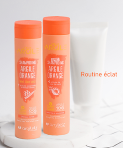 Routine shine for dull hair