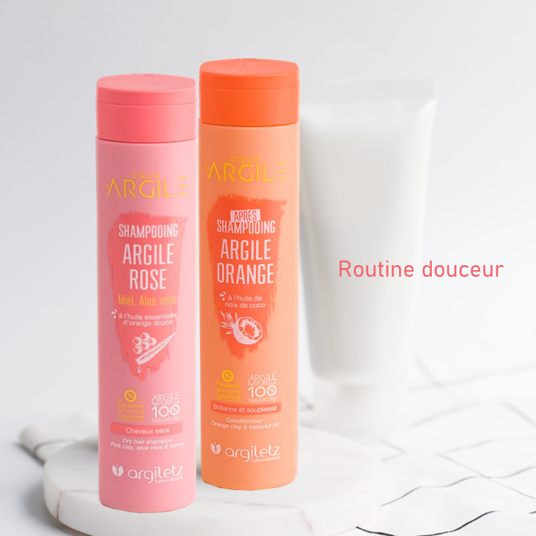 Softening routine for dry hair