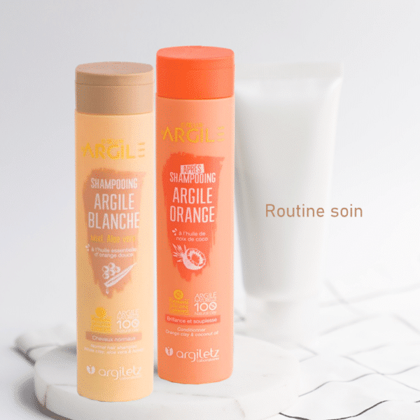 Routine soin pour cheveux normaux