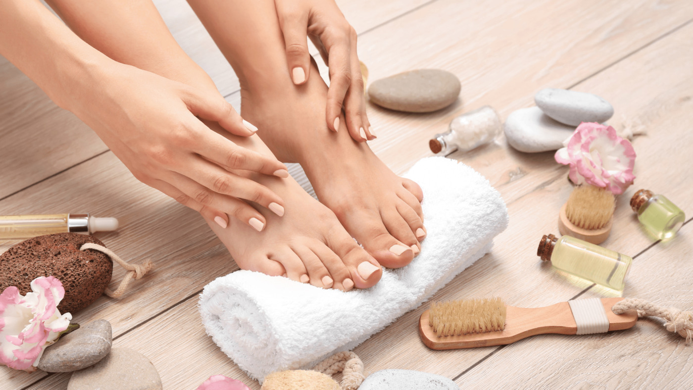 how to take care of my feet naturally
