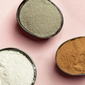 How to use powdered clay?