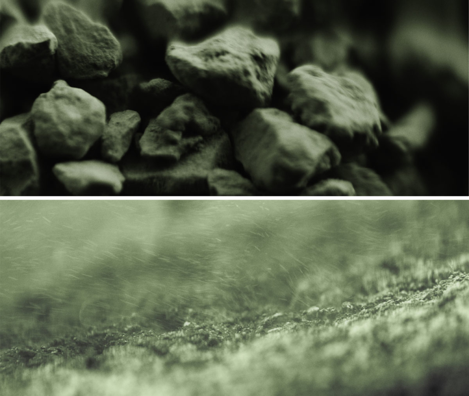 Textures argile verte Campagne